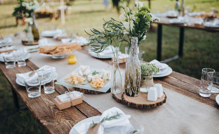 4 نصائح لتحضير حفل زفاف في المنزل