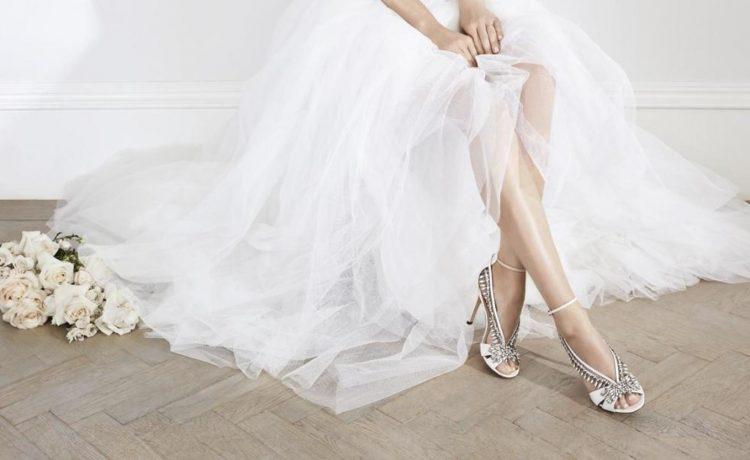 الحذاء المثالي لليلة الزفاف